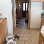 Tied in with new kitchen floor.